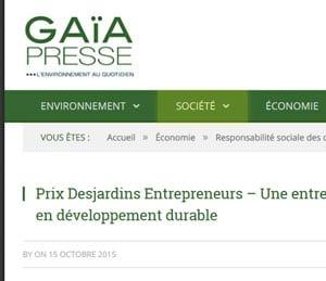 Gaïa presse